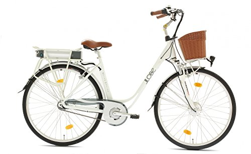 LLOBE E-Bike City Damen White Motion, 28 Zoll, 7 Gänge, 468 Wh 71,12 cm (28 Zoll)