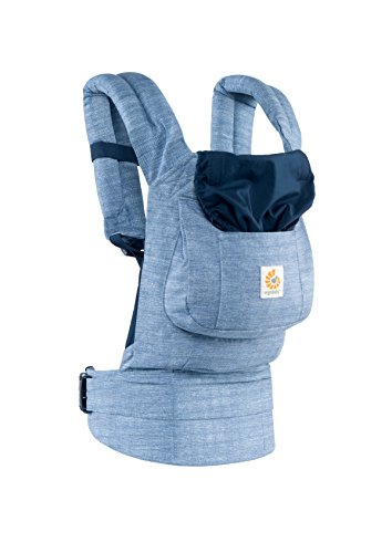Ergobaby Babytrage Kollektion Original (5.5 – 20 kg), Vintage Blue - 3