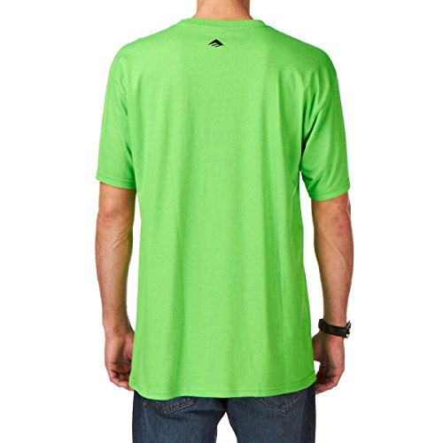 Emerica  Herren T-Shirt PURE 7.0 S/S Lime