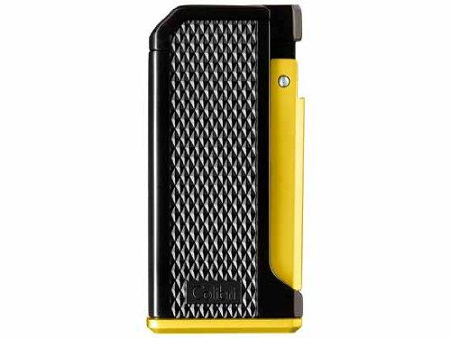Accendino Colibri Monza Black And yellow Single Jet Flame Lighter