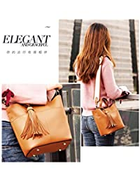 5fca7bba543e7 ArrJee Mode Damen Tasche Handtasche Schräg Tasche Schultertasche Große  Kapazität Pu High Grade Einfachheit Fashion World