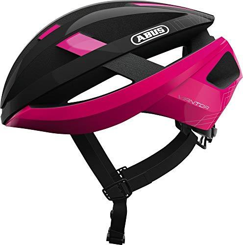 Abus Viantor Road Helmet Fuchsia pink Kopfumfang S   51-55cm 2019 Fahrradhelm