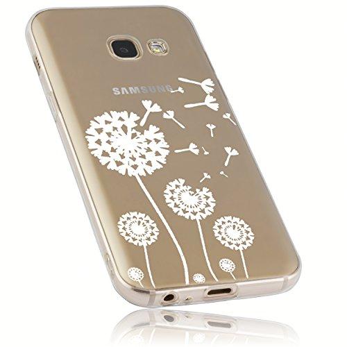 mumbi Schutzhülle Samsung Galaxy A3 (2017) Hülle im Pusteblume Design