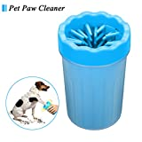 Dog Paw Cleaner, Focuspet Portable Pet Cleaning Brush Cup Dog Foot Cleaner Dog