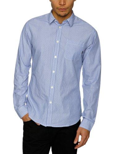 J.C. Rags Herren Shirt , Kent -  - Fran Blue - Medium (Jc Rags)