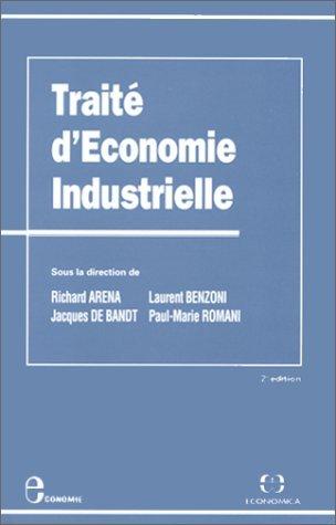 Traité d'économie industrielle