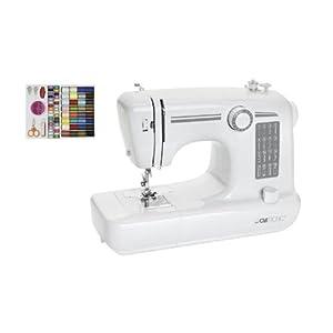 Clatronic NM 3466 - Máquina de coser, color blanco