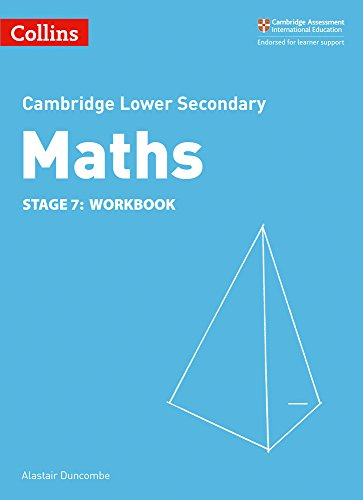 Lower Secondary Maths Workbook: Stage 7 (Collins Cambridge Lower Secondary Maths)
