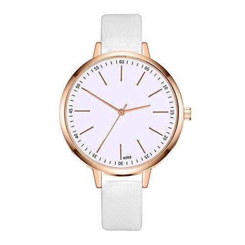 einstellbare Uhr Neue Casual Fashion Damen Leder Quarz Business Watch Büro Uhren für Damen - Damen-uhr Für Büro