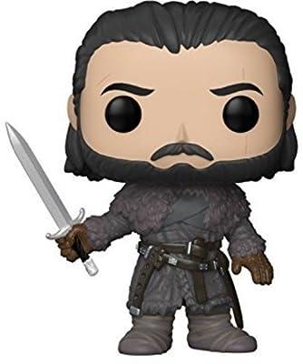 GOT S8 29166 Game of Thrones Jon Snow Beyond the Wall Pop Vinyl Figure