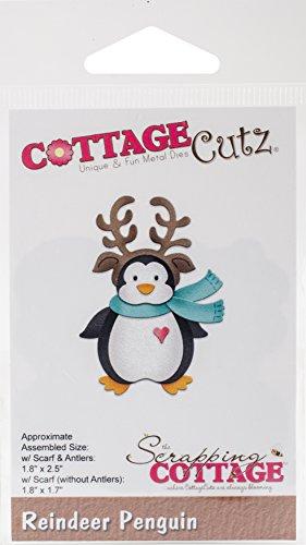 Cottage Cutz Schablone Pinguin 1,7 Zoll bis 2,5 Zoll - Cottage Cutz