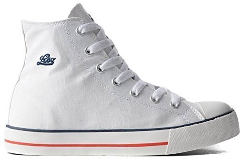 Sneaker Alta Jazz Lico Unisex In Bianco Bianco