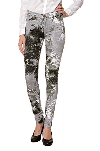 2nd One Damen Jeans Skinny Skinny Jeans NICOLE, Farbe: Armeegruen, Größe: 29 (Classic Bootcut Rise)