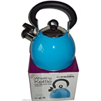 Prima 2.5L Stainless Steel Whistling Kettle in Blue 11122C by Prima