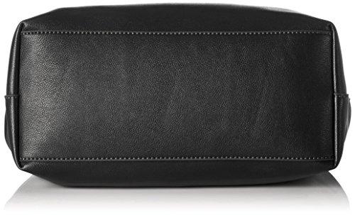 ESPRIT Damen 097ea1o029 Tote, 15 x 28 x 27 cm Schwarz (Black)