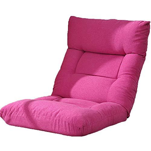 YYWDP Lazy Stuhl, tragbare Lazy Couch Verstellbarer 14-Sitzer-Bodenstuhl und Spielstuhl klappbare Rückenlehne Bequeme Lazy-Couch geeignet für Meditationsstuhl,B