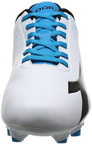 Diadora Herren 7-Tri Mg14 Fußballschuhe Elfenbein (Bianco/nero/blu Fluo)