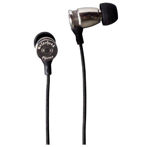 Motörhead Phönes Overkill In-Ear Kopfhörer für Rock und Metal silber (Iron Man-ohrhörer)
