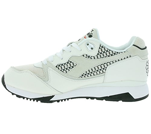 Diadora, Uomo, V7000 Samurai Bianco, Pelle / Mesh, Sneakers, Bianco Bianco