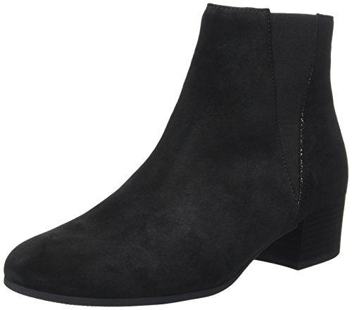 Gabor Shoes Damen Comfort Sport Stiefel, Schwarz (Schwarz/Anthr MICR), 39 EU