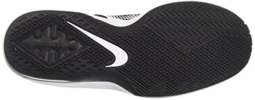 Nike Air Max Infuriate Low, Scarpe da Basket Uomo Nero (Black/Black/White/Dark Grey)