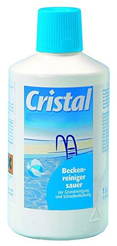 Cristal Beckenreiniger Sauer 1L