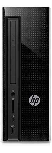 HP Slimline 260-a156ng Desktop-PC (AMD Quad-Core A6-7310APU, 4GB RAM, 1TB HDD, Windows 10 Home 64) schwarz