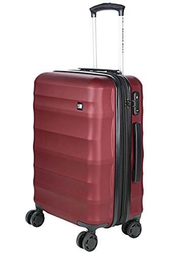 Nasher Miles Rome Expander |Hard Side| Check-In| Maroon 28 Inch/75CM Trolley/Travel/Tourist Luggage Bag