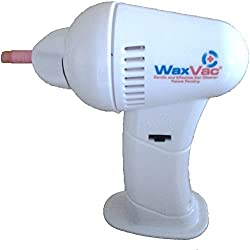 SHOP ONLINE Electric Ear Wax Vac Remover Cleaner Vacuum Removal kit safe Gentle Hygienic