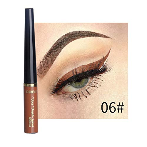 Mitlfuny Black Friay DE Cyber Monday DE,Beauty Metallic Shiny Smoky Eyes Lidschatten Wasserdichter Glitzer Liquid ()