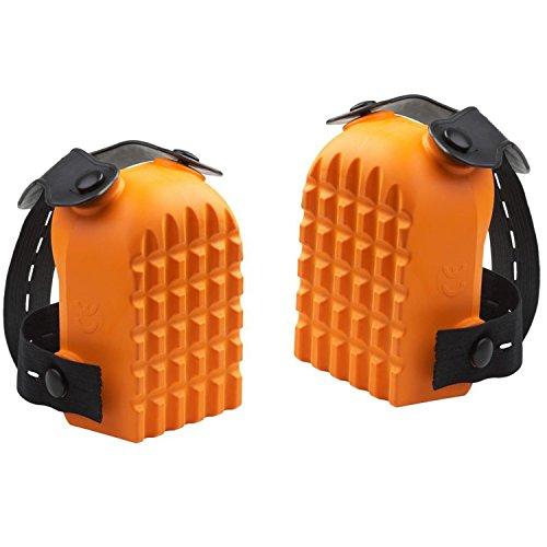 Knieschoner Kastenform | Orange | Knieschutz | Kniepolster | Knieschützer | 1 Paar