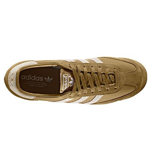 adidas original Dragon. Noir et Beige Chaussures homme. Sneakers Mesa/White/Gum