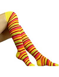 Chapini, Femmes Chaussettes montantes, Over the knee socks, Rayées