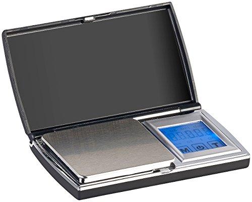 Rosenstein & Söhne Taschenwaage: Digitale Taschen-Feinwaage, Touch-Display, bis 300 g, auf 0,01 g genau (Präzisionswaage)