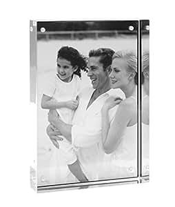 Deknudt Frames S58RK1 Cadre Photo Bloc en Plexi 10 x 15 cm