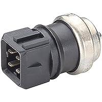 HELLA 6PT 009 309-551 Sensor, temperatura del refrigerante, Número de conexiones 4, con material de montaje añadido