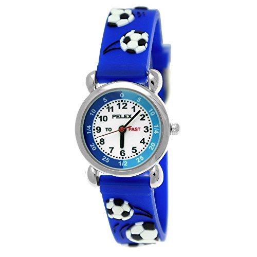 bc434b28cd Pelex London Kinder-Uhr Mädchen-Uhr Jungen-Uhr für Kinder Silikon-Kautschuk