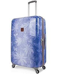 SuitSuit Lightweight Spinner Suitcases Coconut Denim