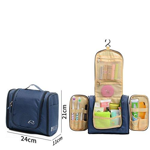 Boîte de rangement cosmétique sac cosmétique cosmétiques plein air voyage mode bain organisateur de maquillage maquillage stockage de brosse de maquillage porte-rouge à lèvres sac portable imperméable femme toilette homme-J