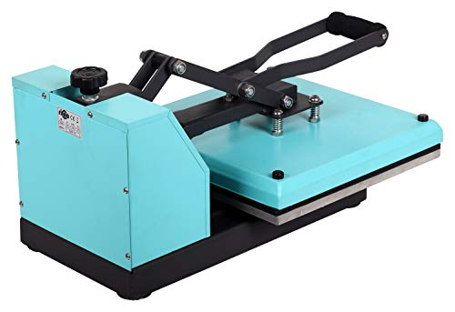 Transferdruck Textil Thermopresse Textildruckpresse T438-TB Farbe:Türkisblau - 4