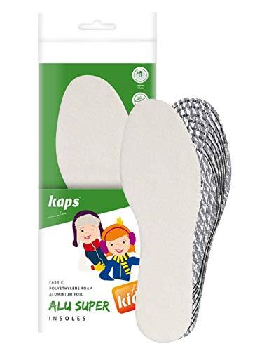 Kaps Alu Super Kids, Plantillas De Zapatos De Invierno Para Niños, Aislamiento Y Calidez, Talla A Medida...