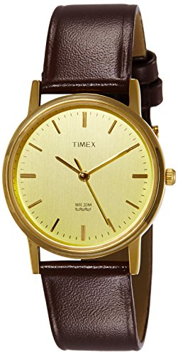 Timex Classics Analog Gold Dial Men's Watch – A301