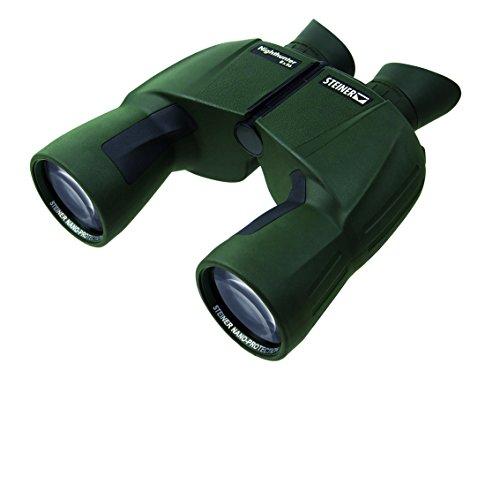 Steiner Nighthunter 8x56 Fernglas - Höchste Lichttransmission (96%+), XL-Sehfeld, wasserdicht, Testsieger - das Nachtfernglas unter den Jagdferngläsern