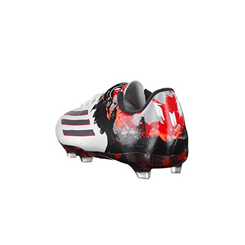 Adidas Messi 10.2 FG White b23770 Bianco - ftwr white/granite/scarlet