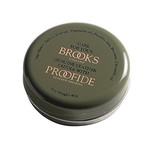 Brooks Spezialfett für Ledersattel 40 g 2016 Reinigung & (Pelle Brooks Sella Della Bici)