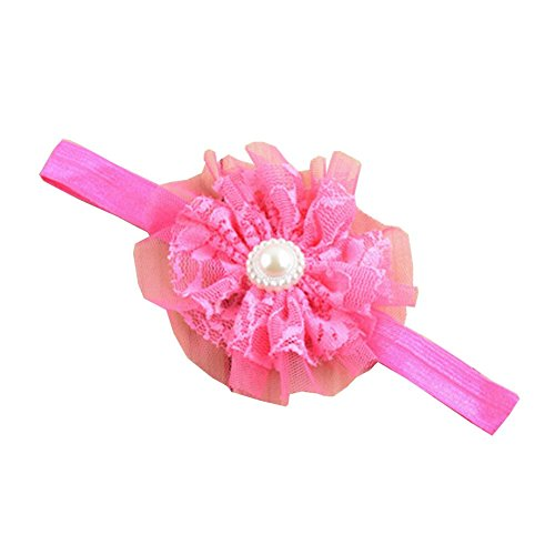 Photo Props belle fleur de dentelle Bandeau Band Hair Surker 1 pcs Kid Baby Girl