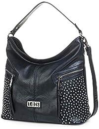 77ab4631d Lois - Bolso para Mujer Bandolera Góndola Shopping Hobo Hombro, Mochila  Casual. Cuero PU