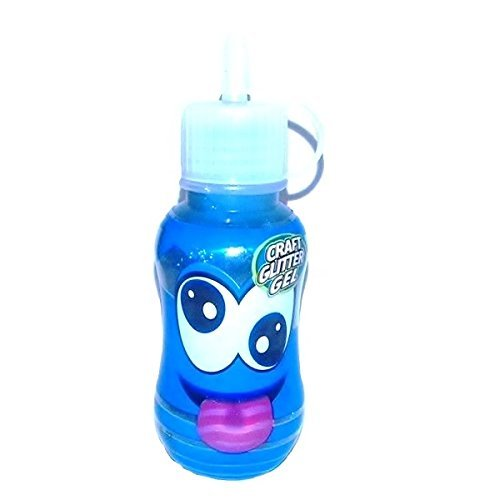 Children's Scento's SmellingCraft Glitter Decoration Gel Oingo Boingo Blueberry One Bottle 59ml Supplied
