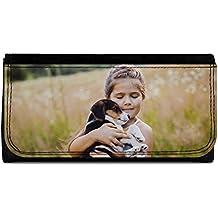 Lolapix - Cartera Grande Personalizada con tu Foto, diseño o Texto, Original y Exclusivo