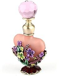 VERY100 5ML Bouteille Classique parfum Vide Mosaïque Fleur Entourage